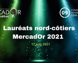 Communiqué de presse | Lauréats régionaux Gala MercadOr 2021