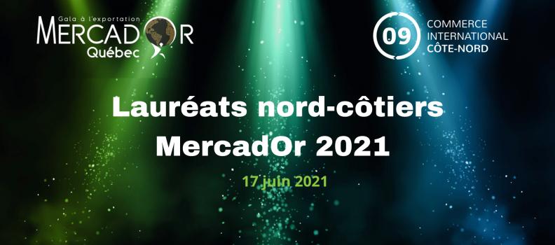 Communiqué de presse   Lauréats régionaux Gala MercadOr 2021
